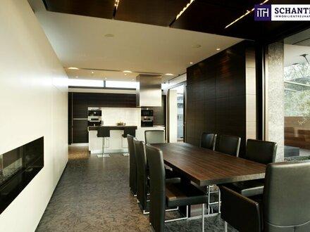 **ITH #GRANDIOS! FAMOS! WOW! - Designer LUXUS-Penthouse mit Panoramablick + Riesige Terrassen + Indoor Pool + Sauna + Kamin…