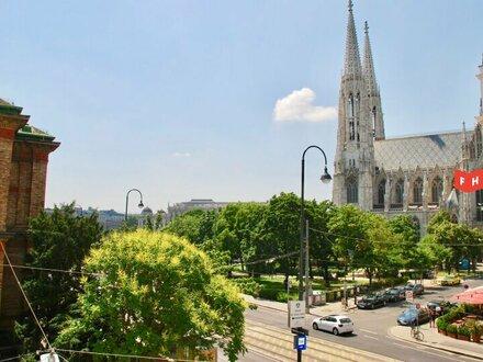 Repräsentatives Büro mit Blick auf die Votivkirche!