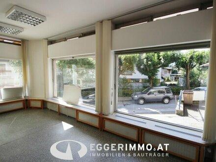 5700 Zell am See: Zentrum, 58 m² Geschäftslokal /Büro / Kanzlei mit 3 großen Schaufenstern in der Franz Josef Strasse / ab…