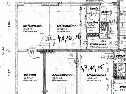 Objekt 140: 3-Zimmerwohnung in 4910 Ried im Innkreis, Schillerstraße 35, Top 16
