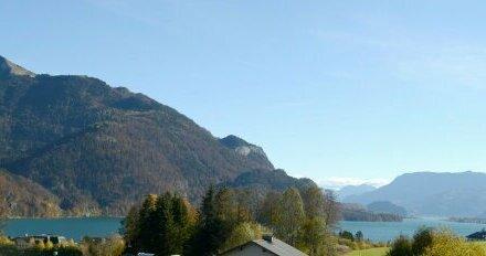 Panoramablick in St. Gilgen am Wolfgangsee - 2.254 m² Grundbesitz mit Altbestand