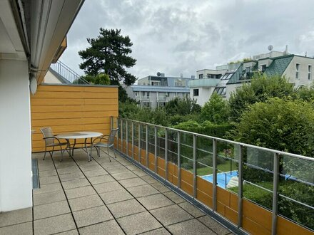 Exklusive 3 Zimmerwohnung mit 28 m² Süd-Terrasse in Sievering