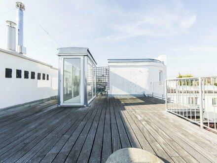 Traumhafte 4-Zimmer DG-Wohnung mit Dachterrasse und Weitblick in 1030 Wien - unbefristet zu mieten!