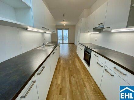 1 Monat. MIETZINSFREI (Nettomiete) bei einer Anmietung bis Ende Jahres! - Traumhafte Vier Zimmerwohnung mit Terrasse – Erstbezug!