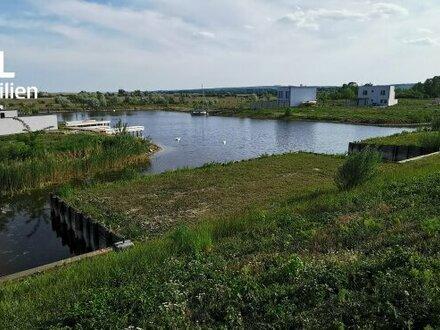 7063 Oggau, Eckgrundstück mit direktem Zugang zum Neusiedlersee, auch für Bauträger geeignet ca. 635 m² - ohne Bauzwang!