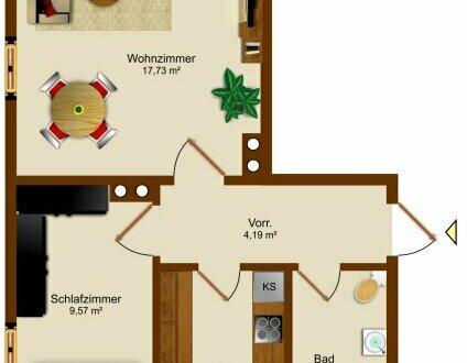 PARADIESISCHE RUHE | 2-Zimmer-Wohnung ca. 44 m² am Leopoldskroner Weiher