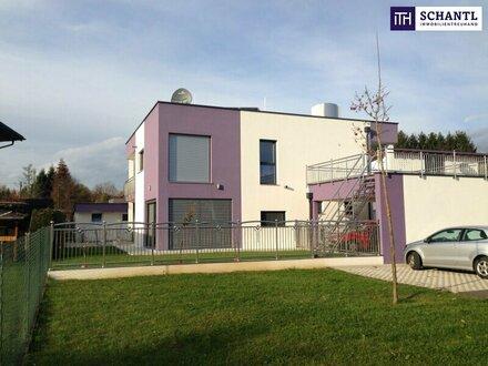 ITH: GRENZGENIALE GARTEN-WOHNUNG mit Designerküche + 2 Sonnen-Terrassen + CARPORT + RIESEN-GARTEN in 8041 Graz-Liebenau -…