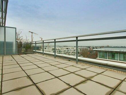 Exklusive DG-Maisonette mit großer Terrasse und Loggia!