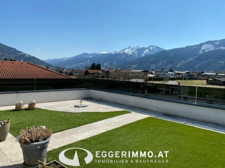 5700 Zell am SEE: Golfplatznähe !! 128m² 4 Zimmerwohnung mit ca. 26m² Terrasse, Weitblick, sehr sonnige und helle Wohnung…