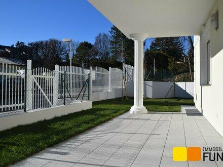 Erstbezug: Exklusive 4-Zimmer-Wohnung mit Garten in absoluter Grünruhelage