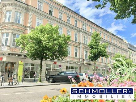 Barrierefrei - Neu renovierte 3-Zimmer-Wohnung im Herzen von Wels