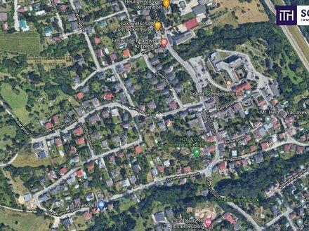 Interessantes Baugrundstück für Bauträger! Grün- und Ruhelage in Klosterneuburg! Super Lage + Nähe zu Wien!