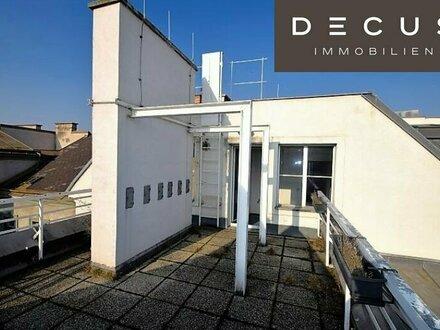 Nähe HAUPTBAHNHOF | Dachgeschossbüro mit Terrasse unweit Schloss Belvedere