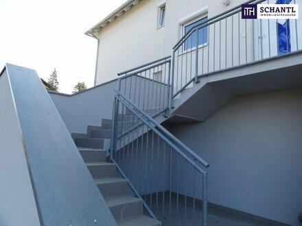 ITH: ATTRAKTIVES REIHENHAUS + Tiefgarage + 2 Terrassen + eigener Garten in 8301 Laßnitzhöhe!