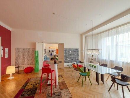 ++NEU** 4-Zimmer Stil-Altbauwohnung in absoluter Bestlage, toller Stilaltbau!