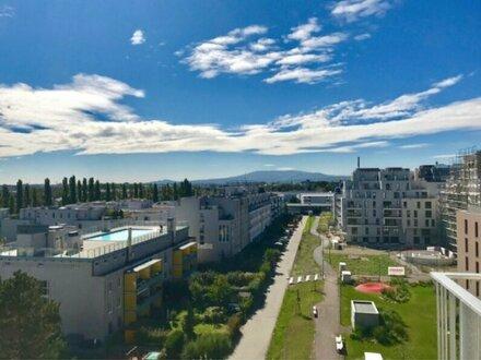 ERSTBEZUG in Liesing! 6. Stock mit Fernblick! Ruhige, Zwei- Zimmer Wohnung mit Balkon zu vermieten!