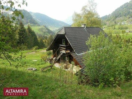 Jagdhaus inmitten einer wunderschönen Bergregion im Naturpark Sölktal - als Haupt oder Ferienwohnsitz nutzbar