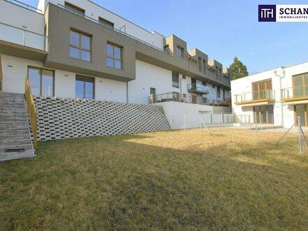 Gartenliebhaber aufgepasst: perfekt aufgeteilte 4-Zimmer Wohnung mit tollem Blick ins Grüne und riesigen Eigengarten!