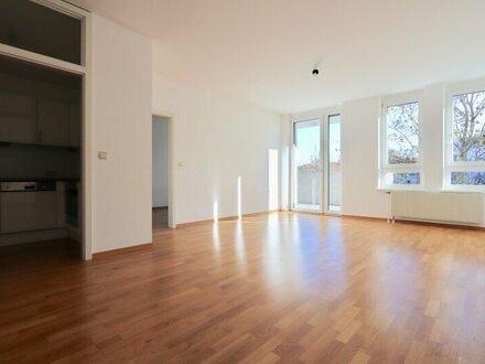 EUM - Grünblick! 2-Zimmer-Neubau mit ostseitigem Balkon und Garage