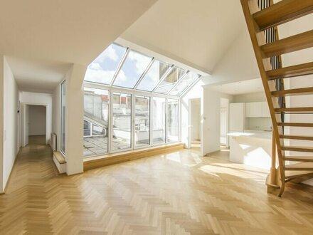 Wunderschöne 3-Zimmer DG-Wohnung mit Terrasse in 1040 Wien zu vermieten!