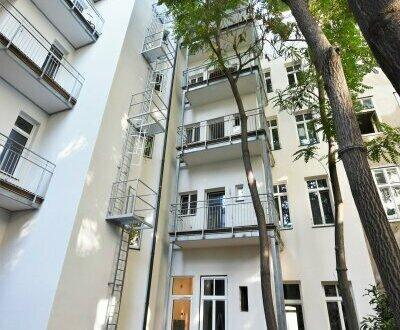 TOP saniert! Große Altbauwohnung mit hofseitiger Loggia + Beste Anbindung + Tolle Infrastruktur! Prachtvolles Altbauhaus…