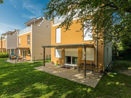 Einfamilienhaus an der Alten Donau mit 300 m² Garten und Dachterrase
