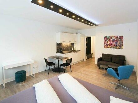 voll möbliertes, modernes Apartment Nähe Liechtensteinstraße
