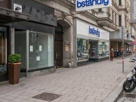 Geschäftslokal direkt auf der Landstraßer Hauptstraße