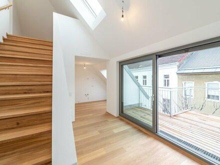 ++NEU++ Hochwertige 3,5 Zimmer DG-Maisonette, Erstbezug, tolle Terrassen!