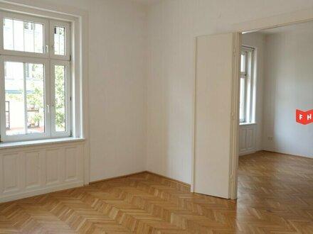 Großzügige 2-Zimmer Altbauwohnung mit Grünblick