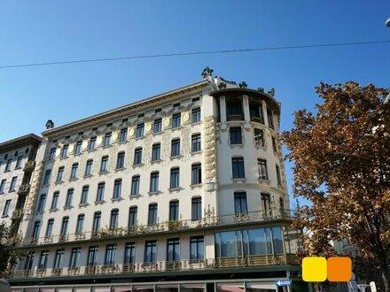 Wohnen im Otto Wagner-Juwel beim Naschmarkt