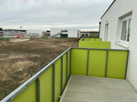 360° Rundgang - Wohnung Baujahr 2017 mit Balkon (ca. 9 m²) in Gänserndorf-.Süd