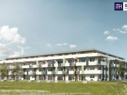 Gartenwohnung mit 59 m² und kleinem Eigengarten von 35 m² + PROVISIONSFREI! Projektvideo!