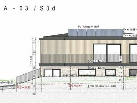 Neubau! Lichtdurchflutetes Haus in ruhiger grüner Siedlungslage / Haus A