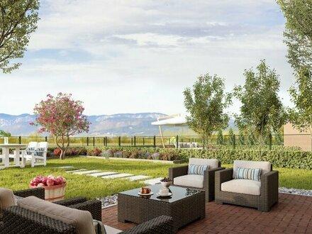 ACHTERSEE - Sonnige, exlusive & klimatisierte Doppelhäuser mit Toskana-Flair - HAUS 2 - MASSIVHAUS!