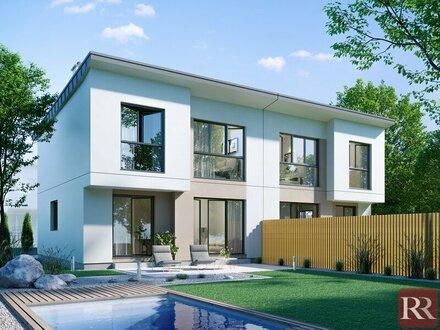 Top Grünruhelage Groß- Enzersdorf Exklusive Doppelhäuser - provisionsfreier Erstbezug