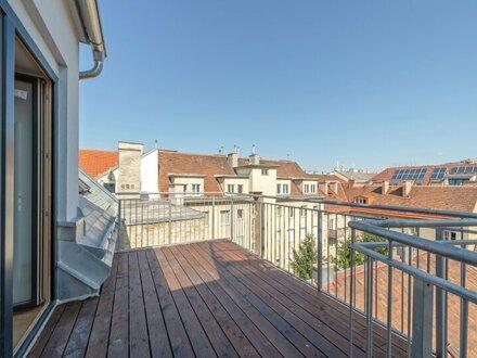 ++Hofruhelage++ 3-Zimmer DG-Erstbezug mit Balkon u. Dachterrasse (63m²), perfekter Grundriss!