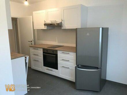 Super geschnittene 2 Zimmer-Wohnung mit nagelneuer Küche