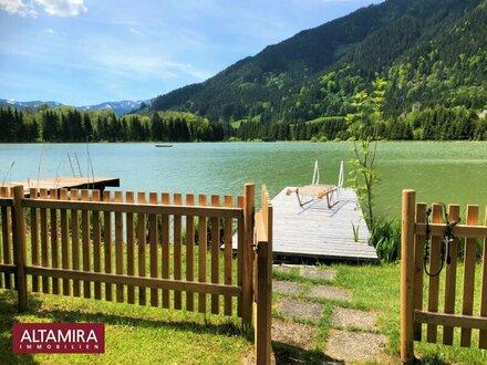 Der nächste Sommer steht vor der Tür! Ferienaus am See mit Badesteg sucht Eigentümer