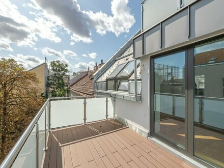 ++NEU++ Hochwertige 4-Zimmer DG-Maisonette, Hofruhelage mit Balkon u. zwei Terrassen!