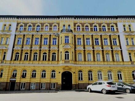 Nähe U3-Johnstrasse - GOLDSCHLAGSTRASSE - (MEISELMARKT) ruhige 2-Zimmerwohnung mit Erker im stillvollen Altbau!