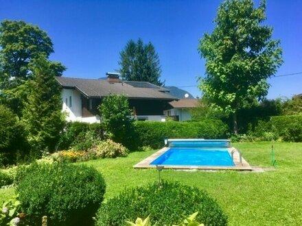 4 Zimmer Wohnung mit Garten und Pool in Großgmain