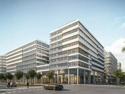 Neubauprojekt am neuen Wiener Hauptbahnhof