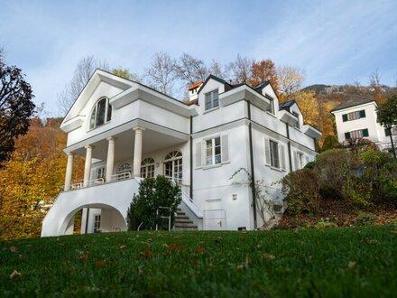Aigen: Prachtvolle Villa in absoluter Ruhelage