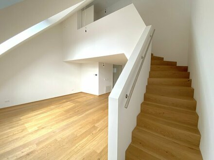 Moderne 2,5 Zimmer Dachgeschoss Wohnung | Erstbezug am Brunnenmarkt
