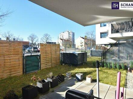 Die perfekte Anlage! Vermietete Gartenwohnung + Perfekte Raumaufteilung + TOP-Neubau + Nähe Alte Donau!