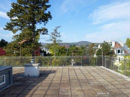 Sonnige 4-5 Zimmer Wohnung mit ca. 150 m2 privater Dachterrasse in Grünruhelage in Glanzing!