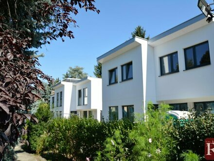 Doppelhaus auf EIGENGRUND am Stadtrand von Strebersdorf im provisionsfreien Erstbezug