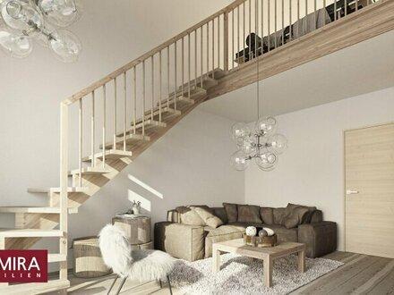 Beispielansicht Stiegenaufgang Galerie