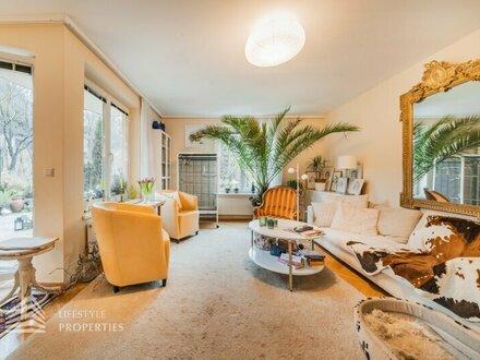Hinreißende 2-Zimmer Gartenwohnung mit Terrasse in Unter-Sievering